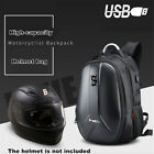 HighCapacity Motorcycle Backpack Motorbike Helmet Bag Waterproof USB Charge Plug
