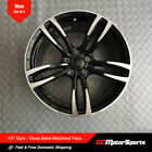 19 M3 M4 Style Gloss Black Machined Face Wheels Fit BMW F30 F32 F33 F36