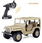 RC 4WD Jeep Electric Remote Control Off-Road Truck Rock Car Model kids Toy gift