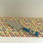 Fiestaware Peacock Cake Server Fiesta Retired Blue Ceramic Handle Pie Serve Ware