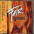 FAIR WARNING Fair Warning WMC5-518 CD JAPAN NEW Free Shipping