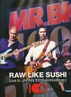Mr.Big Raw Like Sushi 100 Live in Japan 2DVDS+2CDS Limited Edition Box F/S