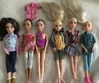 SPIN MASTER LIV ARTICULATED DOLLS WIGS CLOTHES LOT Of 6