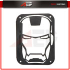 For 2007 16 Jeep Wrangler JK 2 Tail Light Cover Iron Man Rear Steel Lamp Guard