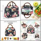Lunch Bag Cooler Bag Women Tote Bag Insulated Lunch Box Water Resistant Thermal