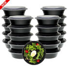 NEW 21 Pack Meal Prep Containers BPA Free Bowls with Lids Food Storage Bento Box