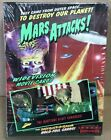 1996 MARS ATTACKS TOPPS WIDE VISION UNOPENED BOX OF 36 PACKS BEAUTIFUL!! RARE!!