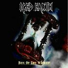 ICED EARTH: BOX OF THE WICKED. COMPLETE 5-CD/BOOK/SPV BOX SET. ROCK/HEAVY METAL.