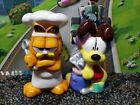 Garfield  Odie Ceramic Salt and Pepper Shakers Set FAST SHIPPING CARTOON