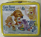 Vintage 1985 Aladdin Care Bears Cousins Lunch Box FREE SHIPPING