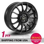 1 4 Lug 15x65 Wheels Rims 4x100 +40 Matt Black For Toyota Corolla Prius Yaris