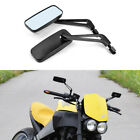 Motorcycle Rear View Mirrors CNC Black 8mm 10mm For Buell Lightning Blast 1125R
