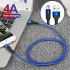 1M Micro USB 4A Fast Charging Data Cable Lead For Samsung Galaxy S7 S6 S5 Edge