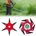 Trimmer Head 6 Blades 65Mn Lawn Mower Grass Weed Eater Brush Cutter Tools Hot