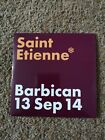SAINT ETIENNE BARBICAN 13 SEP 14 4-TRACK LIVE CD VERY RARE! 2016. Tiger Bay