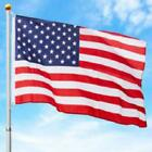 Best Choice Products 16Ft Telescopic Aluminum Flagpole W American Flag And Gold