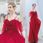 Noble Evening Formal Party Ball Gown Prom Bridesmaid Beaded Host Dress TSJY2326
