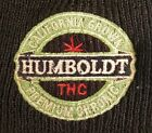 Humboldt THC California Grown Premium Chronic Beanie Knit Hat Embroidered Black