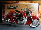 Guiloy 1948 Indian Chief Motorcycle 16 Scale Model Bike Collection