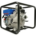 Portable WATER TRASH PUMP 2 In and Out 3 4 Solids 158 GPM 7 HP Gas