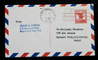 US EFO Postal Card UXC4 Used Entire Air Post Postal Card Bicolored Border 1966