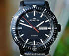 Fortis Monolith Black Case & Dial Automatic Day & Date Diver 42mm BOX & PAPERS