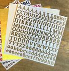 Creative Memories ABC 123 LARGE Alphabet Numbers VARIOUS NEW