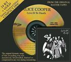 FACTORY SEALED AUDIO FIDELITY GOLD CD ALICE COOPER - LOVE IT TO DEATH - NUMBER #
