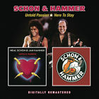 Neal Schon & Jan Hammer Untold Passion/Here to Stay Remastered CD NEW