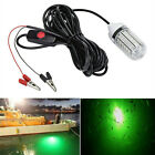 12V LED Green Underwater Submersible Night Fishing Light Crappie Shad Squid US