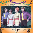 ALIENS PSYCHOS AND WILD THINGS VOL 4 V A CD EXCELLENT CONDITION