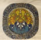 Rosenthal Glass Christmas Plate 100th Anniversary Edition Hand Painted