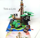 Lego 6270 Forbidden Island aka: Pirate Island Set 100% Complete w/Manual 11 pics