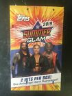 2019 TOPPS WWE SUMMER SLAM FACTORY SEALED HOBBY BOX