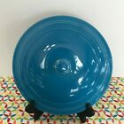 Fiestaware Peacock Covered Casserole Lid Fiesta Blue Retired Style LID ONLY