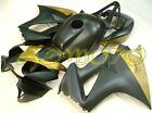 Injection Molding Fairing Kit Bodywork For Honda VFR800 2002-2012 Black Gold