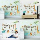 Cartoon Animal Style Wall Stickers Nursery Kid Bedroom Mural Decal Playful Decor