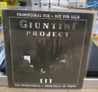 GIUNTINI PROJECT  lll Cd import promotional release Frontiers Records Rare CD