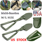 Military Portable Folding Shovel Survival Spade Outdoor-Tool Camping Garden NEW