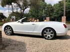 LARGER PHOTOS: Bentley Continental GTC W12 6ltr twin turbo 2006 69K mls  Pearlescent White Wrap