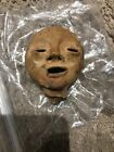 Pre Columbian Terra Cotta Clay Toy Doll Head Native American Canadian River