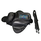 Waterproof Motorcycle Tank Magnetic Shoulder Bag Phone Small Stuff Storage Pouch