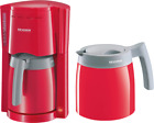 Severin KA 9746 Filter Kaffeemaschine mit 2 Thermoskannen Rot