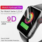 2PCS 9D Hydrogel Screen Full Cover Protector Naked Touch For IWatch Series 4-1