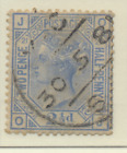 Great Britain Stamp Scott 82 Plate 21 Used