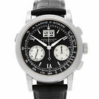 A. Lange & Sohne Datograph flyback 403.035 Platinum Manual Wind Chronograph