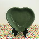 Fiestaware Sage Small Heart Bowl Fiesta Retired Green 9 oz Candy Dish