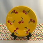 Fiestaware Cherries on Daffodil Lunch Plate Fiesta HLCCA Exclusive 9 in Luncheon