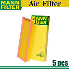Mann Air Filter 5pcs for 1987-1995 Jeep Wrangler l4 2.5L High Quality NEW AY17
