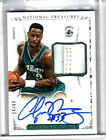 ALONZO MOURNING 2013 NATIONAL TREASURES SNEAKER SWATCHES AUTOGRAPH # 54 # 60